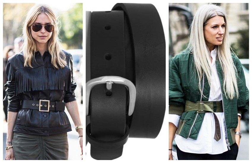 A Love Is Blind // Isabel Marant Matte Leather Belt