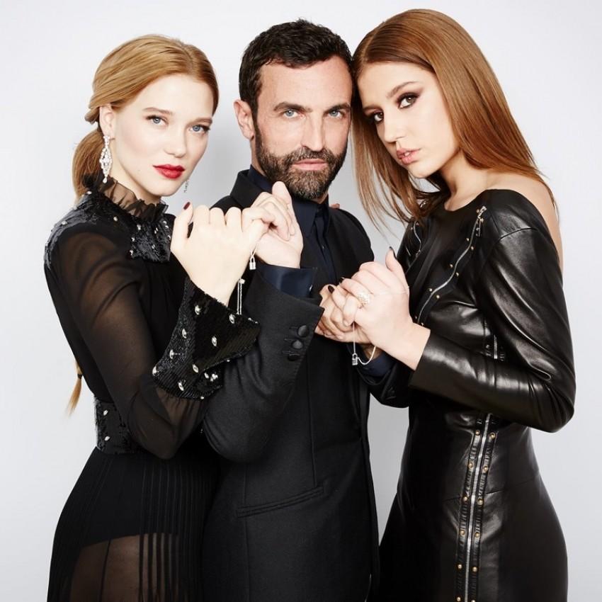 Lea Seydoux, Nicolas Ghesquiere i Adele Exarchopoulos