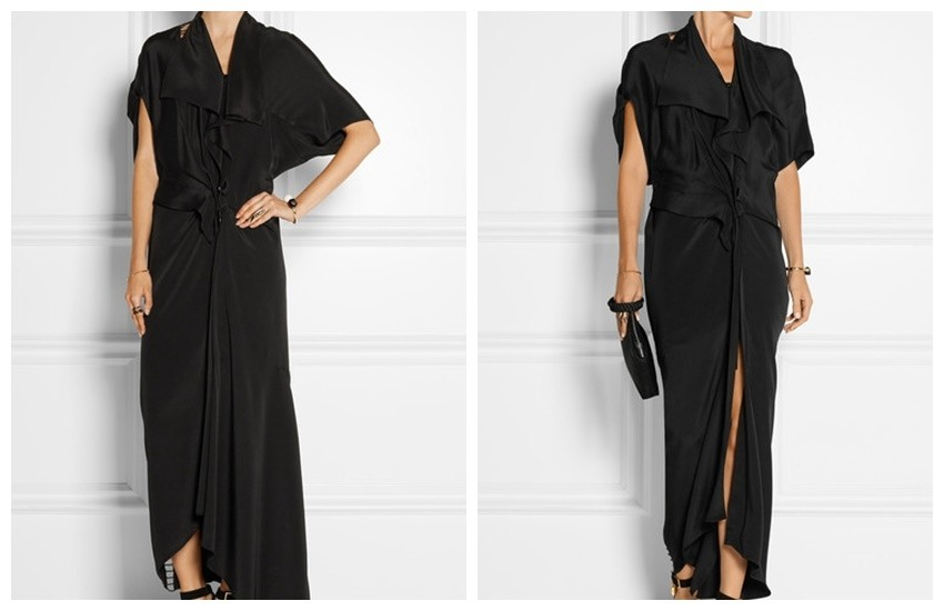 3.1 PHILLIP LIM Cutout silk dress £326