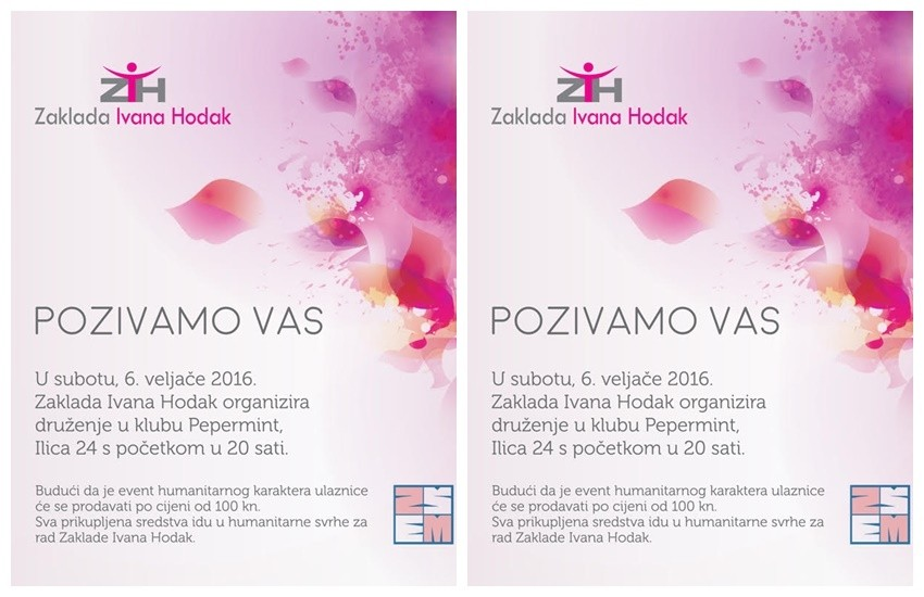 Humanitarni event Zaklade Ivana Hodak