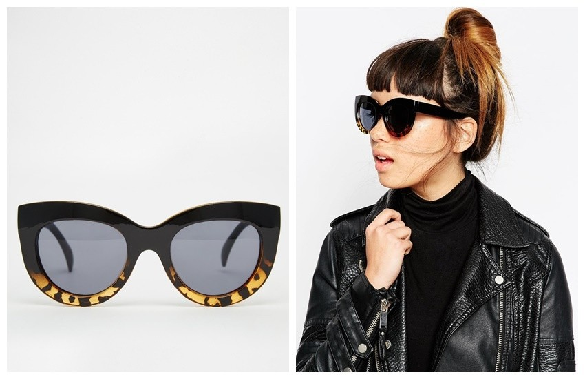 ASOS Cat Eye Sunglasses In Chunky Frame €16.90