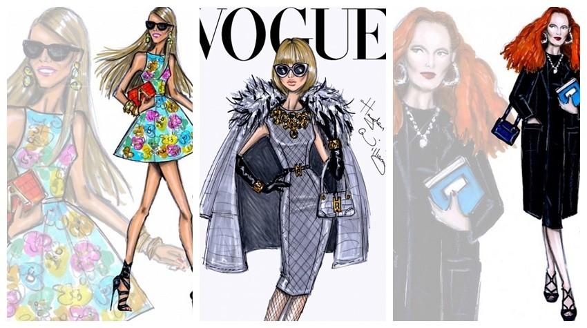 Sva naša najdraža modna lica, ilustrirana!
