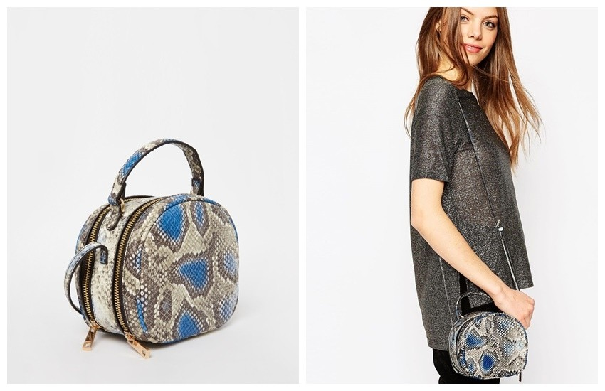 ASOS Snake Box Shoulder Bag €30.98