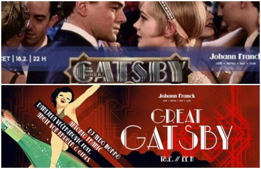 The Great Gatsby 22:00h @ Johann Franck