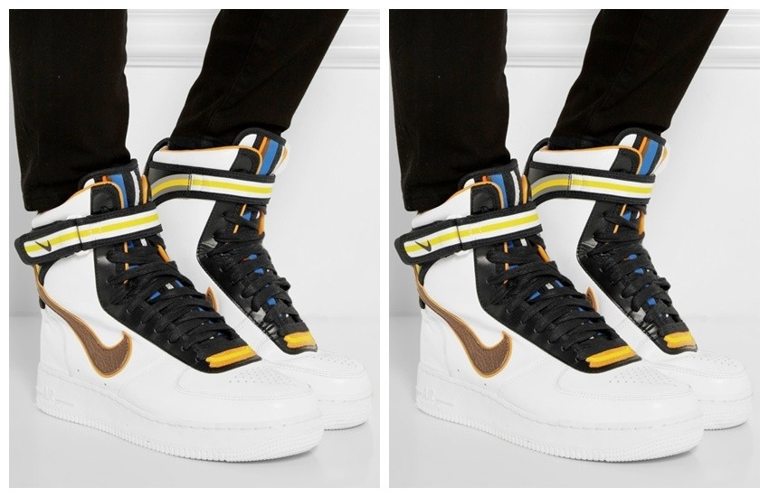 2014: Riccardo Tisci x Nike Hi-Top Sneakers