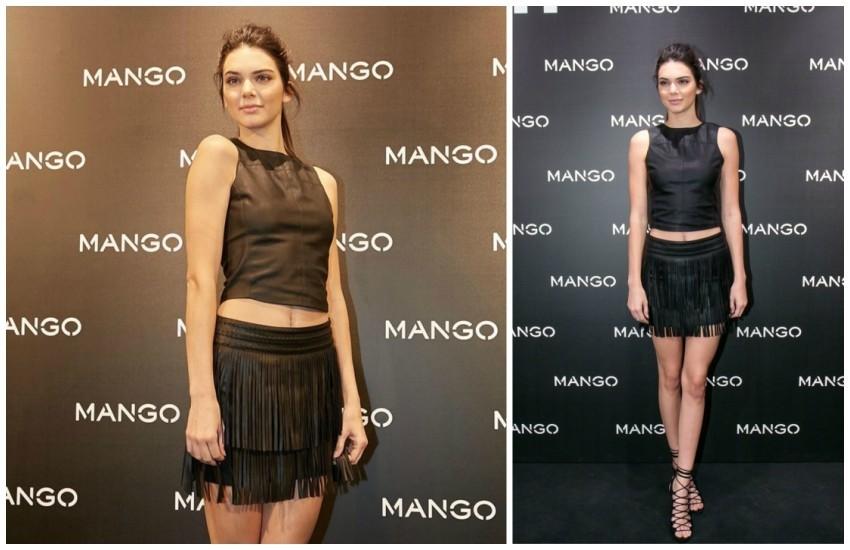 Kendall Jenner na lansiranju kolekcije u Barceloni (foto: Mango)