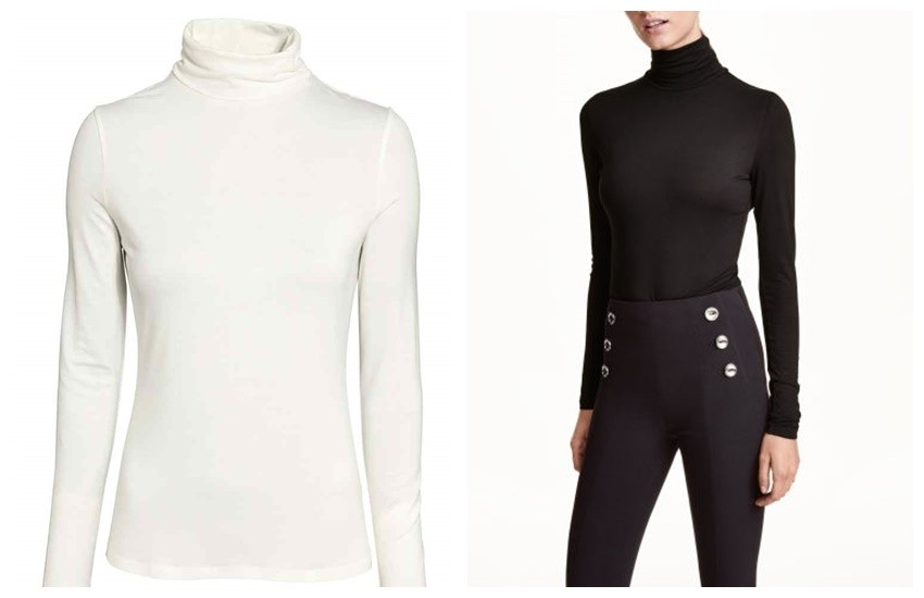 H&M Polo-neck top