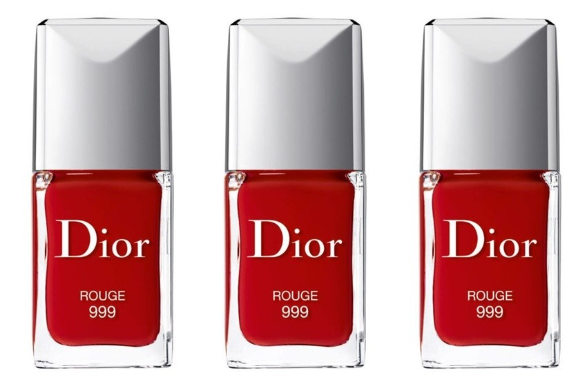 "Dior 'Vernis' Gel Shine & Long Wear Nail Lacquer ""Rouge 999"""