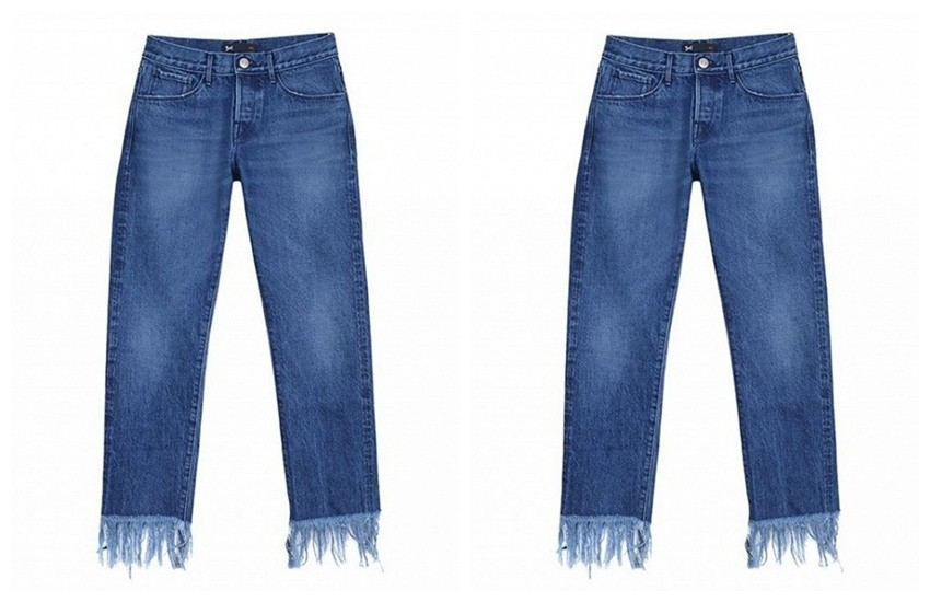 3x1 Lima Laser Fringe Jeans