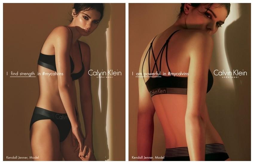 Kendall Jenner za Calvin Klein Underwear