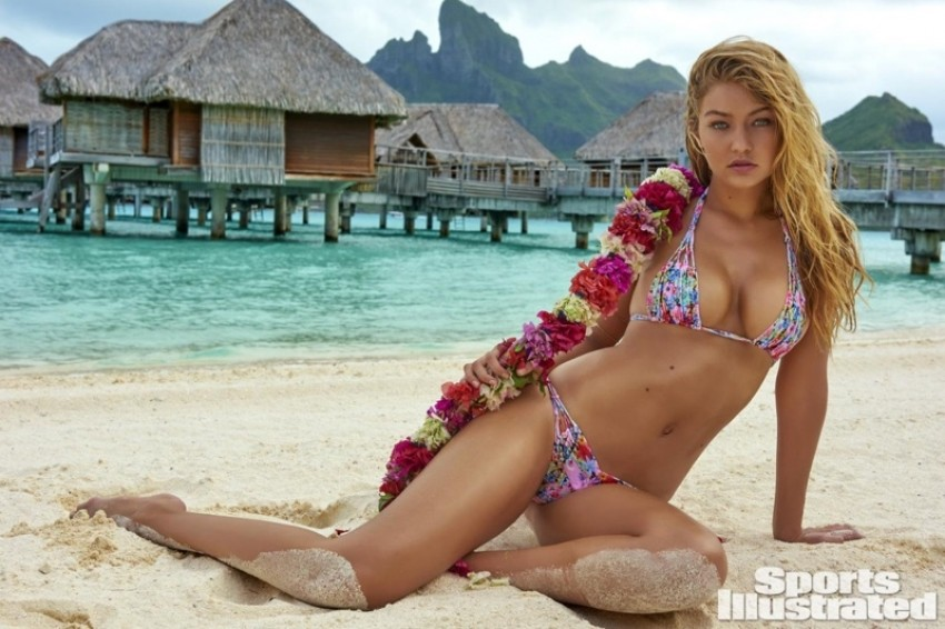 Gigi Hadid za Sports Illustrated