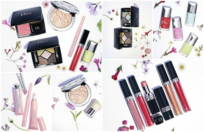 "Dior ""Glowing Gardens"" Spring 2016 Makeup Collection"