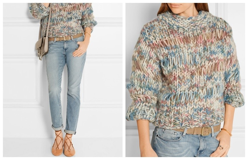 CHLOÉ Chunky-knit wool sweater £995