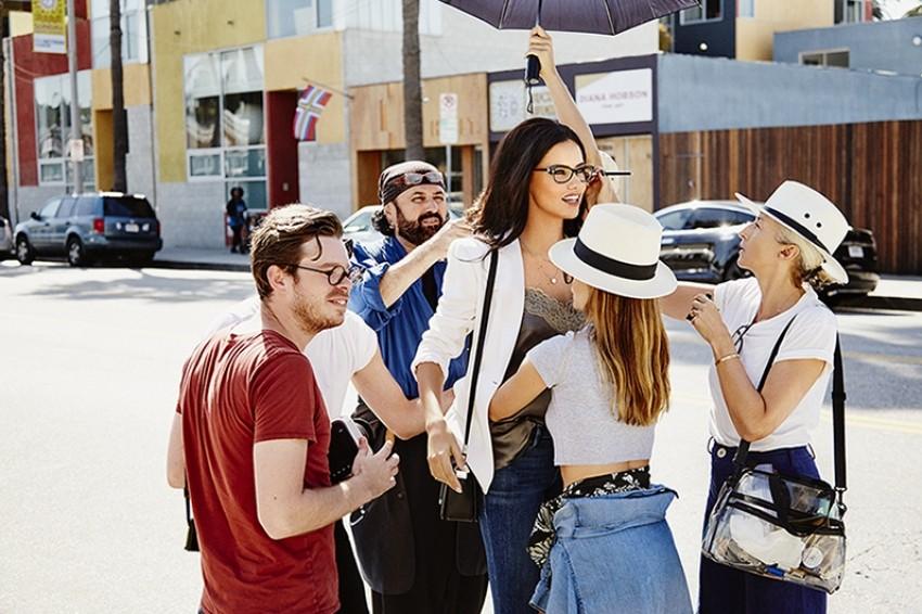 Adriana Lima za Vogue Eyewear