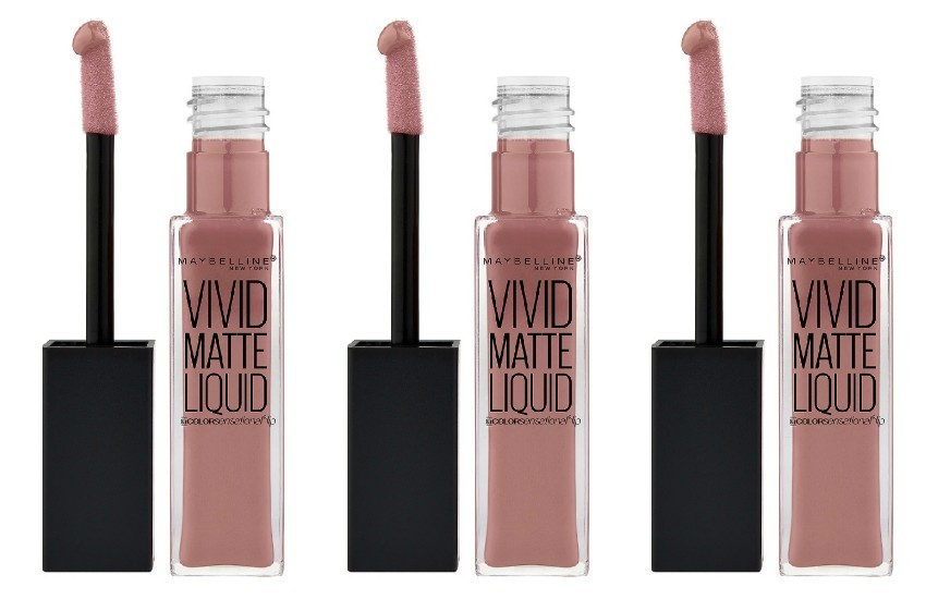 "Maybelline Vivid Matte Liquid Lip Color ""Nude Thrill"""