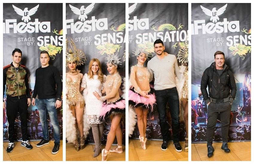 Nogometaši Franko Andrijašević i Darijan Zarkov, Ivana Mišerić, Luka Stepančić, Neven Ciganović