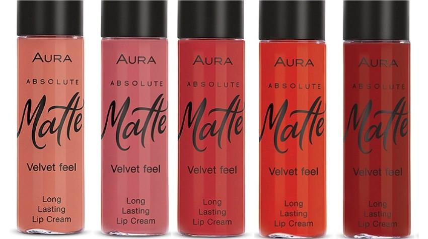 Aura Absolute Matte Lip Cream