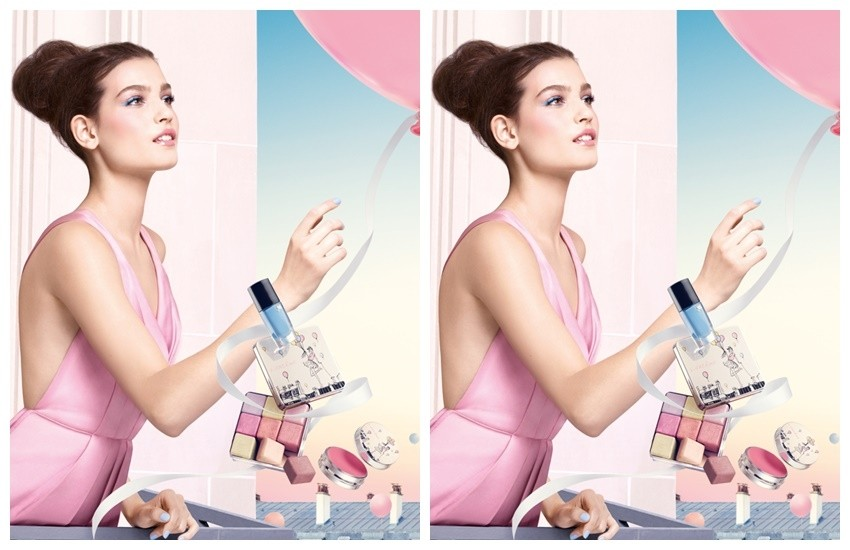 ''From Lancôme with love''