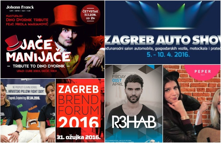 tjedni pregled događanja u Zagrebu od 31.3. do 6.4.