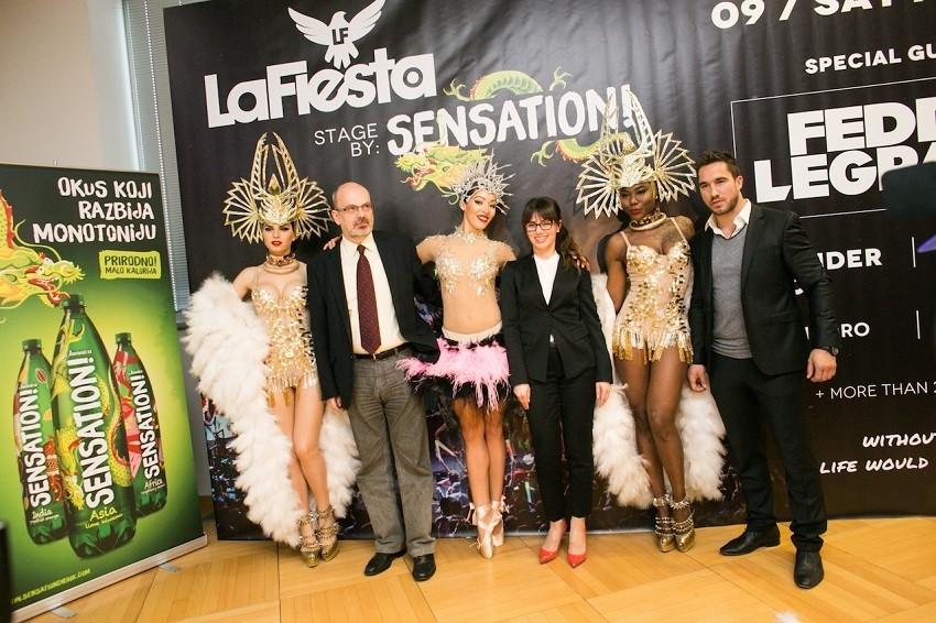 La Fiesta by Sensation