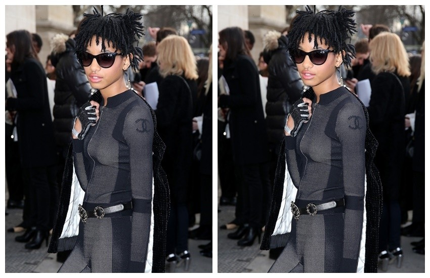 Willow Smith na pariškom tjednu mode