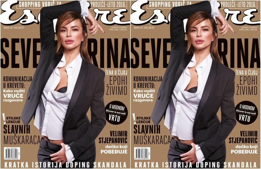 Severina za Esquire Srbija