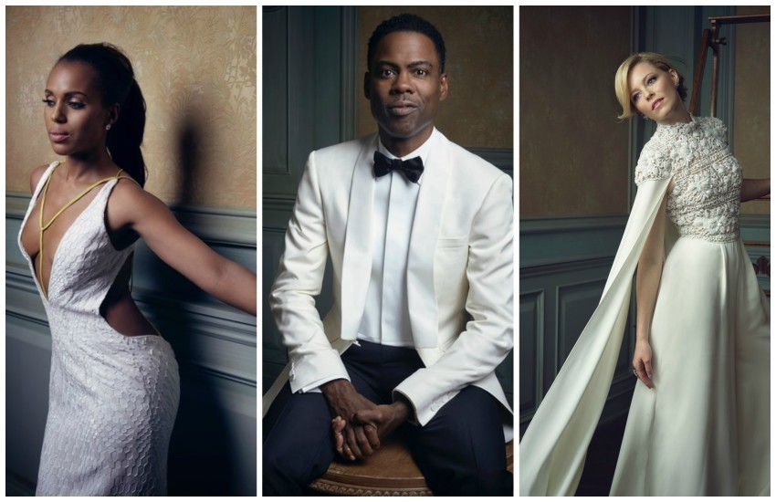 Kerry Washington, Chris Rock, Elizabeth Banks