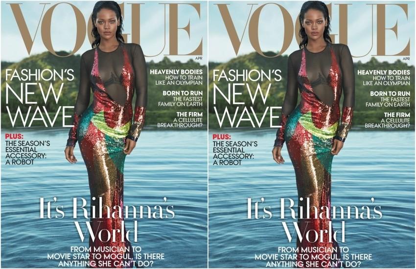 Rihanna za Vogue