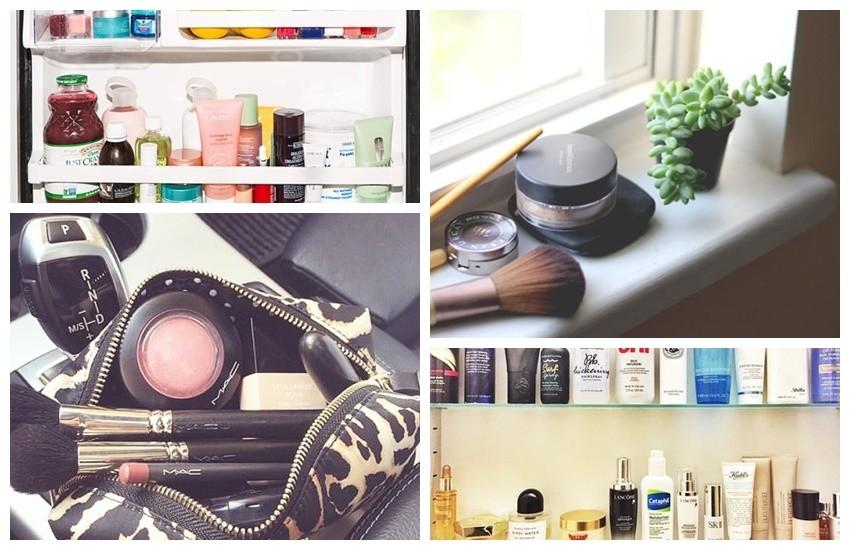 5 mjesta gdje NIKADA ne smijemo držati beauty proizvode