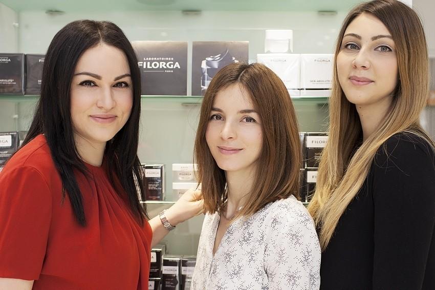 Marketinško-prodajni tim FILORGA - Ana Vurušić, Azra Mušić, Biljana Tešić