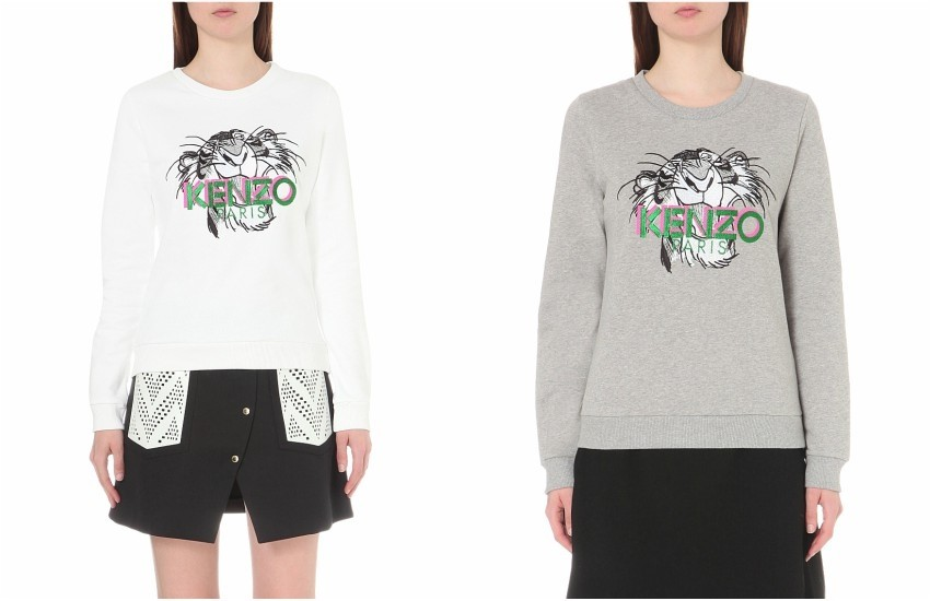 Kenzo x Jungle Book Shere Khan cotton-jersey sweatshirt £180.00