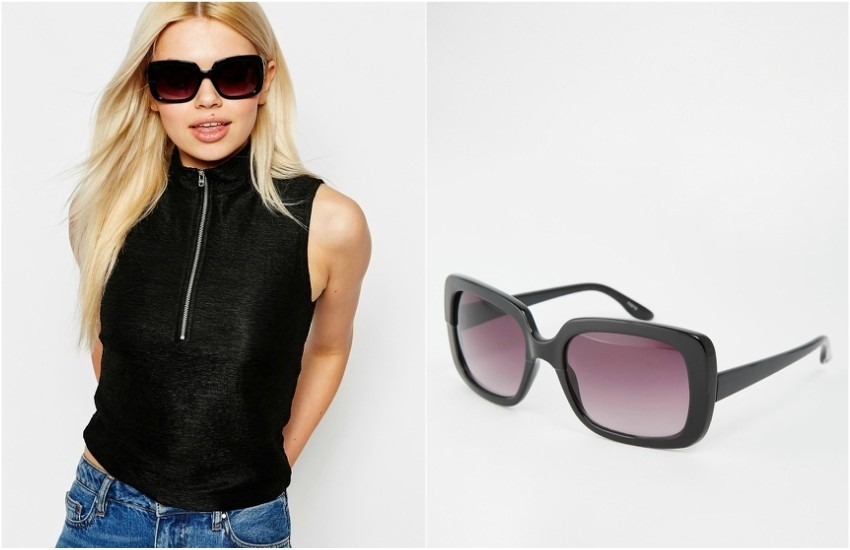 Monki Tinted Lense Square Sunglasses $16.50