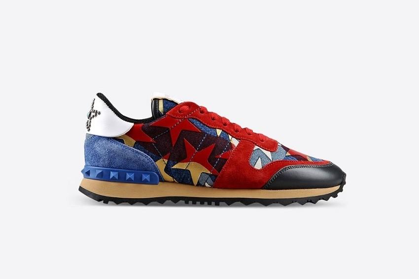 Valentino Rockstud Sneakers $975