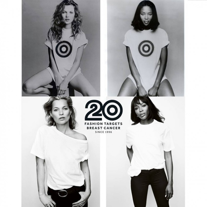 Kate i Naomi u istoj kampanji 1996. i danas!