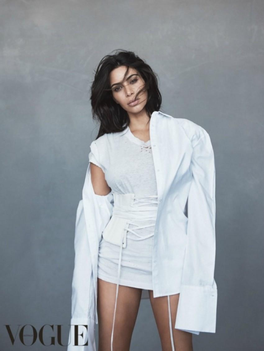 Kim Kardashian na naslovnici Vogue Australia