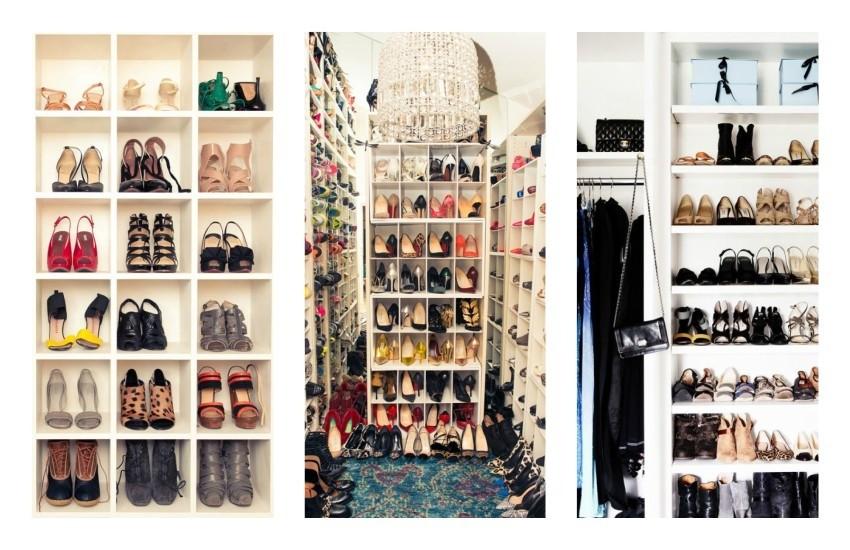 10 savršenih ormara za cipele o kojima sanjamo