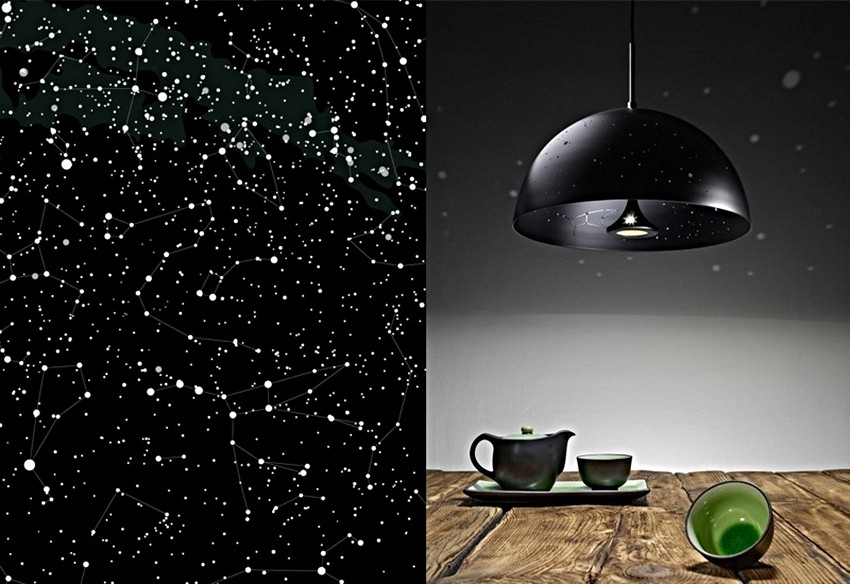 The Starry Light Constellation Lamp