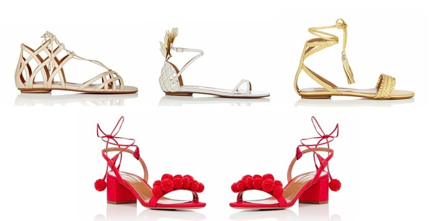 Obožavamo Aquazzura sandale!
