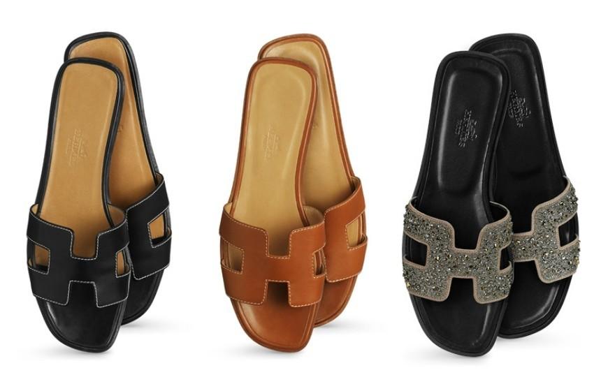 Hermès Oran sandals (425 funti)