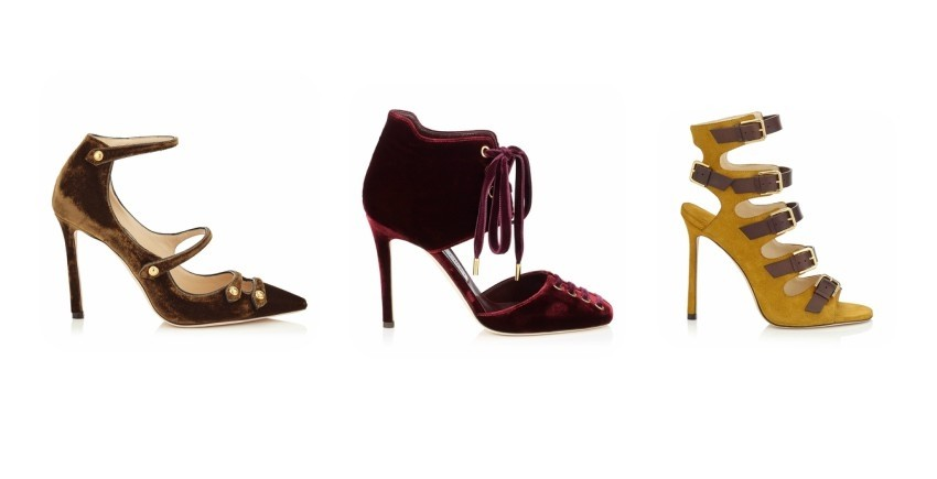 Jimmy Choo Lacey Velvet Pointy Toe Pumps, Jimmy Choo Mari Velvet Booties, Jimmy Choo Trick Suede Leather Buckled Sandals