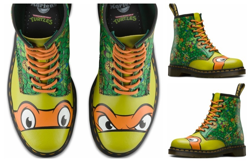 Dr. Martens x Teenage Mutant Ninja Turtles (Michaelangelo)
