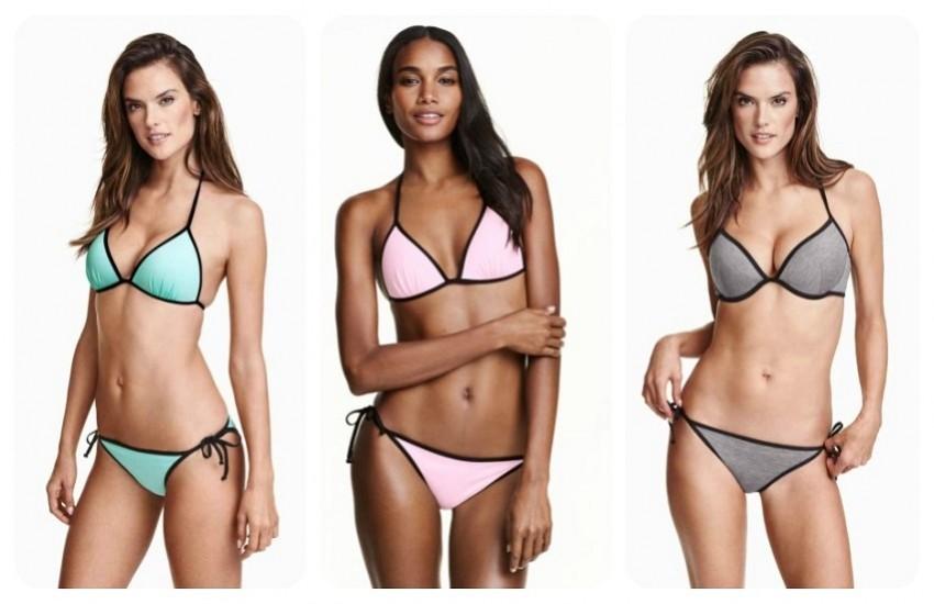 Bikini top 8,99 €  // Bikini bottoms 5,99 €
