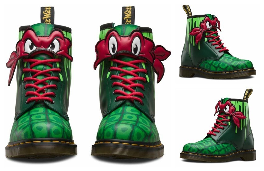 Dr. Martens x Teenage Mutant Ninja Turtles (Rafael)