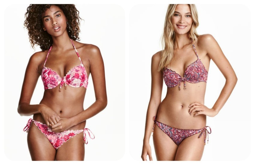ush-up bikini top 14,99 € // Bikini bottoms 9,99 €