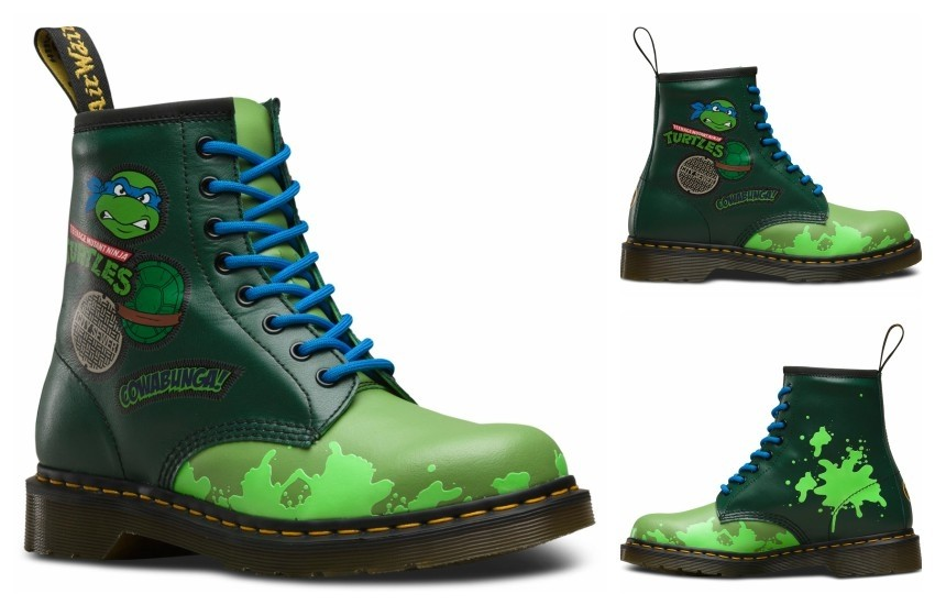 Dr. Martens x Teenage Mutant Ninja Turtles (Leonardo)