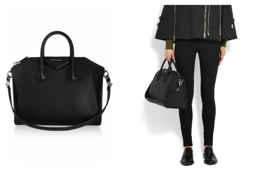 GIVENCHY Medium Antigona bag in black goat leather €1,690