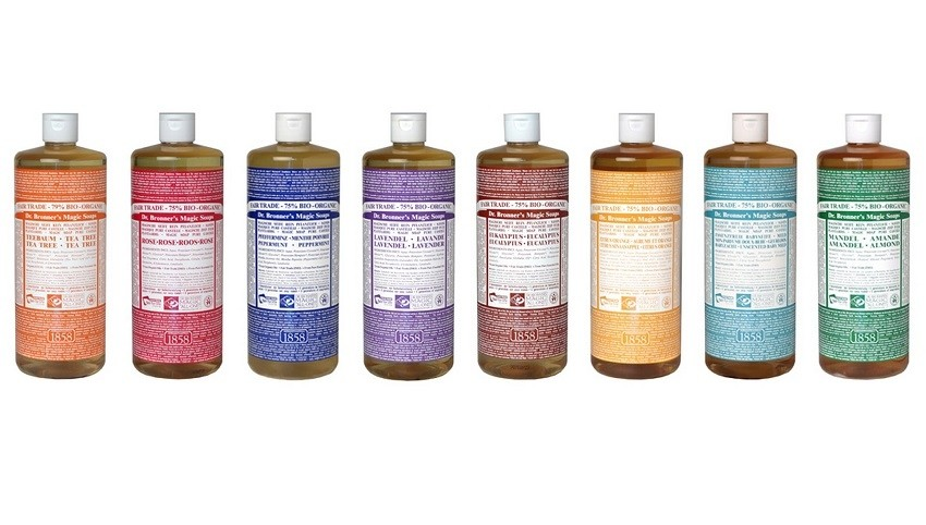 DR. BRONNER HEMP PURE CASTILE SOAP