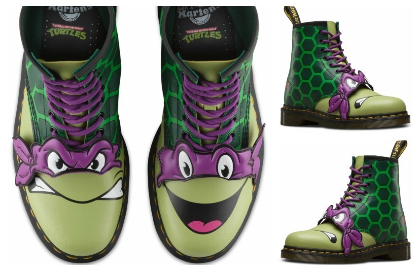 Dr. Martens x Teenage Mutant Ninja Turtles (Donatello)