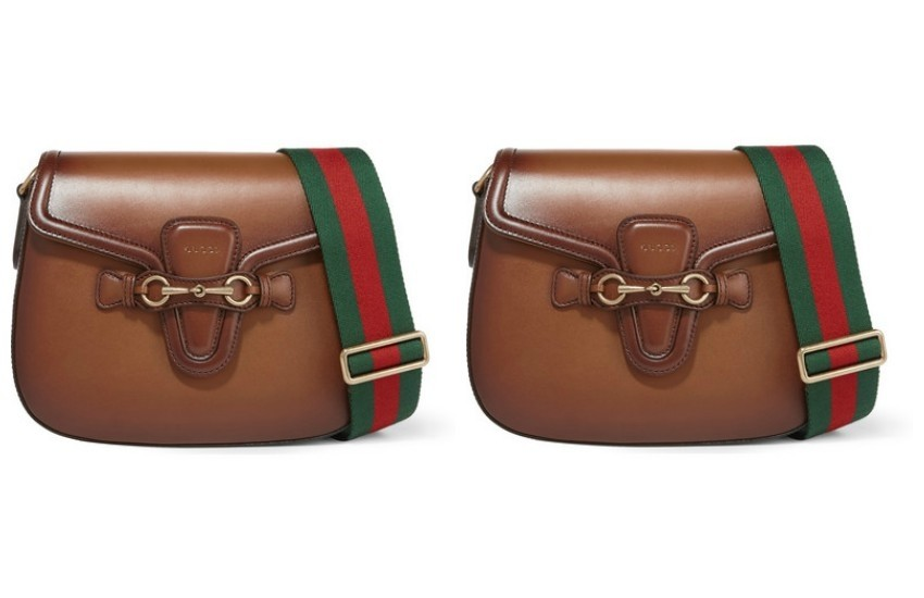 GUCCI Lady Web small leather shoulder bag $2,700