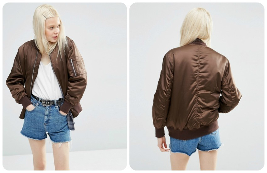 ASOS Ultimate Bomber Jacket £45.00